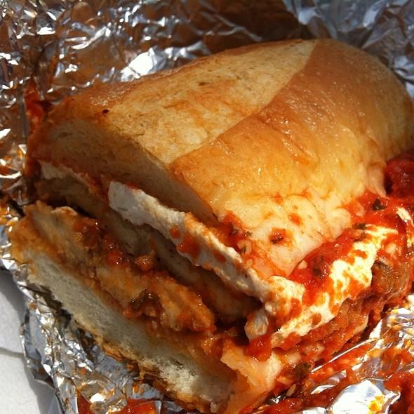 sandwich frite merguez