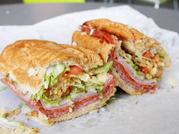Italian Deli Sandwich 2