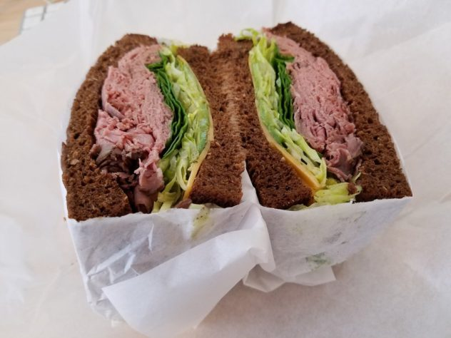 Roast Beef on Wheat