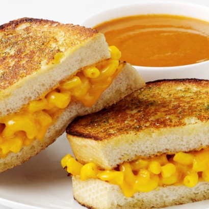 Mac & Cheese Sandwich