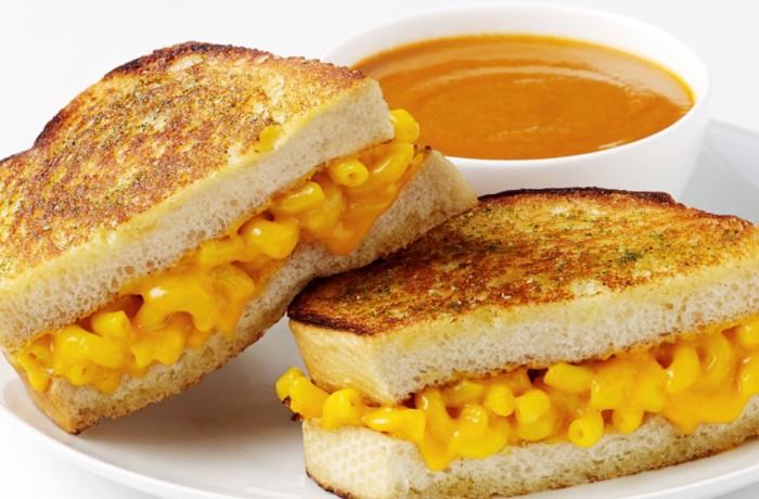 Mac & Cheese Sandwich